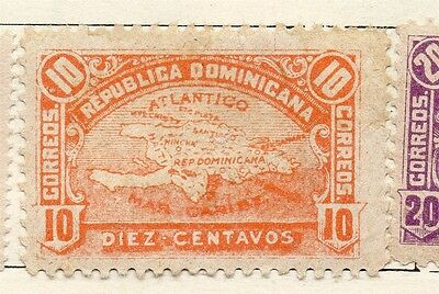 Dominican Republic 1900 Early Issue Fine Mint Hinged 10c. 121887