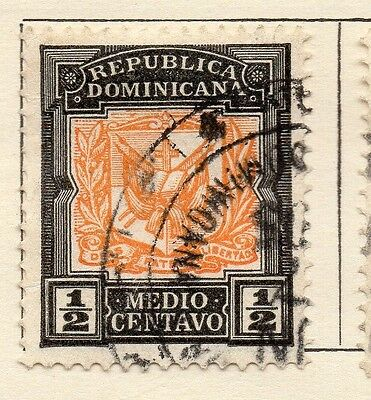 Dominican Republic 1905 Early Issue Fine Used 1/2c. 121914