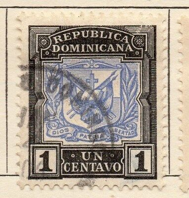 Dominican Republic 1905 Early Issue Fine Used 1c. 121915