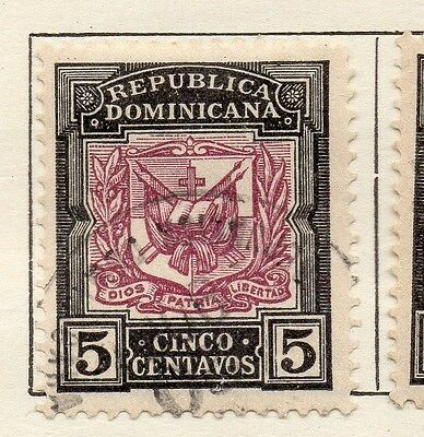 Dominican Republic 1905 Early Issue Fine Used 5c. 121917