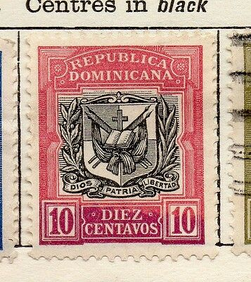 Dominican Republic 1906 Early Issue Fine Mint Hinged 10c. 121926