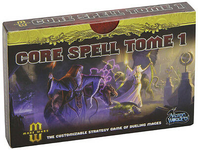 Mage Wars: Core Spell Tome - (New)