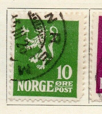 Norway 1922-24 Early Issue Fine Used 10ore. 121967