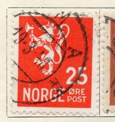 Norway 1926-28 Early Issue Fine Used 25ore. 121979