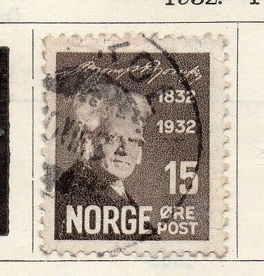 Norway 1932 Early Issue Fine Used 15ore. 122033