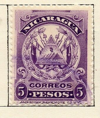 Nicaragua 1905 Early Issue Fine Used 5P. 122048