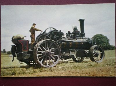 Postcard  Fowler Ploughing Engine N.r 1212 Used For Ploughing & Cultivating