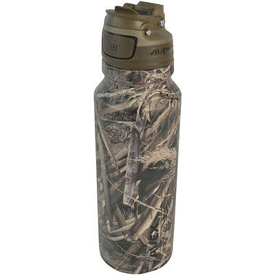 Avex 40 oz. Freeflow Autoseal Stainless Water Bottle - Realtree Camo