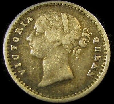 1841 British East India Co. 2 Annas...Sharp, Very Appealing Type...Nice!!