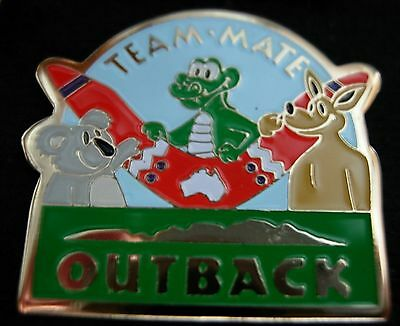 J4053R Outback Steakhouse Team Mate NL hat lapel pin