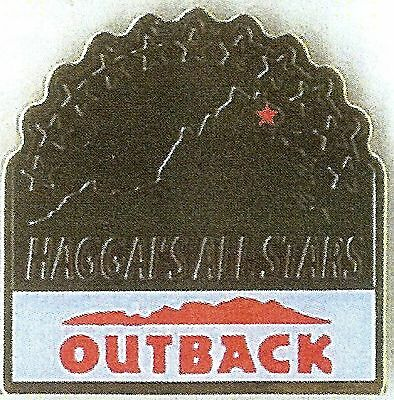 J4059R Outback Steakhouse Haggis All Stars hat lapel pin