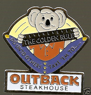J3303 Outback Steakhouse The Golden Rule