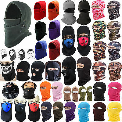 Newest Balaclava Motorcycle Neck Winter Knitted Ski Full Face Mask Cover Hat Cap