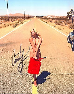 Courtney Force NHRA Racing Sexy hand signed 8x10 autograph photo