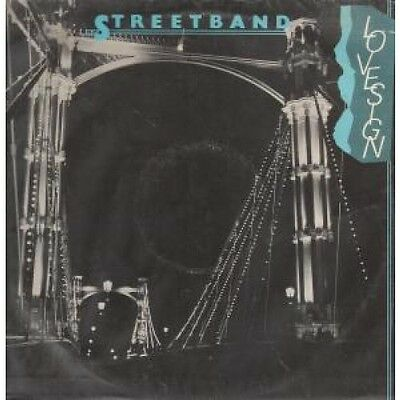 """STREETBAND FEATURING PAUL YOUNG Love Sign 12"""" VINYL UK Logo 1978 2 Track"""