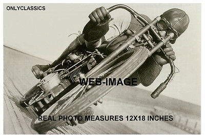 '21 Harley Davidson Motorcycle Racing Otto Walker 12X18 Photo Poster Motor Drome