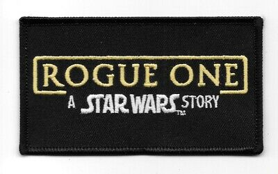 Star Wars Rogue One, A Star Wars Story Movie Name Logo Embroidered Patch UNUSED