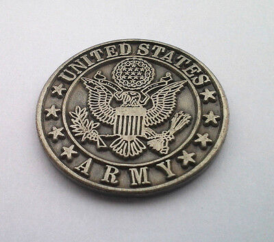 UNITED STATES ARMY  Military Veteran US ARMY PEWTER Hat Pin P62547 EE