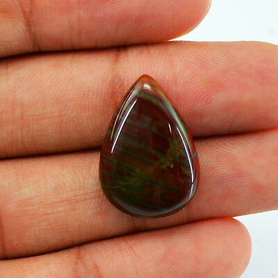 Absolutely Tremendous Aaa 15.25 Cts Natural Pear Shaped Picasso Jasper Gem