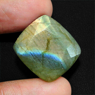 Buyers Top Most Demanded 22.50 Cts Natural Untreated Faceted Labradorite Gem