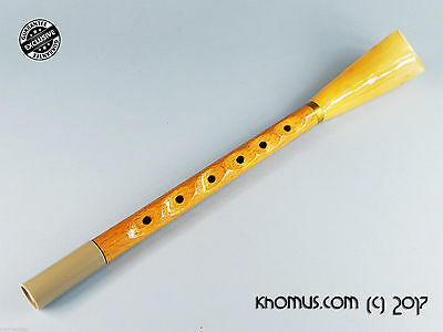Russian native flute with reed Zhaleika (Hornpipe) by David Rakhimgulov