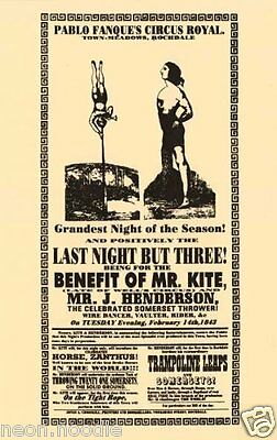 Beatles-Being For The Benefit Of Mr Kite Poster---Buy It Now-Get 3 Posters