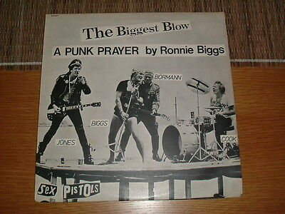 "Sex Pistols -The Biggest Blow-Virgin 12 "" Single From 1978"