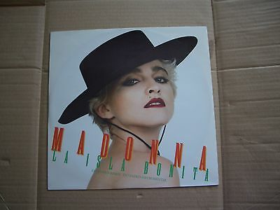 "Madonna - La Isla Bonita  - 12"" Picture Sleeve Single"