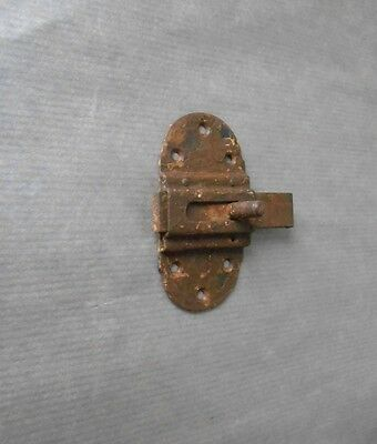 Old french Sliding Door Latch Lock Bolt