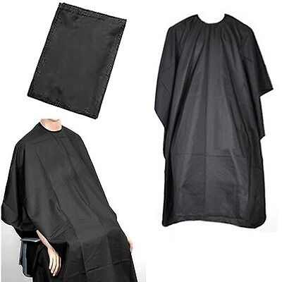 Pro Hair Cut/Cutting Hairdressing Hairdresser Salon Barber Gown Cape Black Adult
