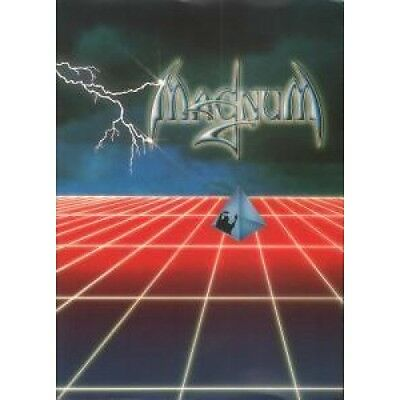MAGNUM/IQ 1985 Tour TOUR PROGRAMME Large Colour Official Tour Programme