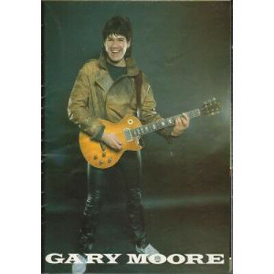 GARY MOORE Corridors Of Power TOUR PROGRAMME UK 1982 Poster Tour Programme.