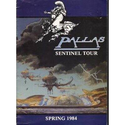 PALLAS Sentinel Tour TOUR PROGRAMME UK Large Colour Spring 1984 Tour Programme.