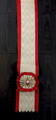 #JA003 - Japan Empire, Order of the Rising Sun, Grand Cross sash
