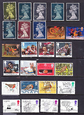 Great Britain stamps - 52 Used