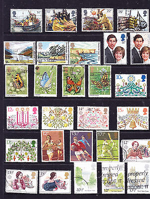 Great Britain stamps - 54 Used