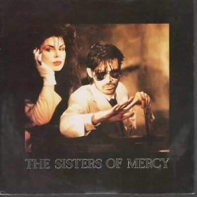 "SISTERS OF MERCY Dominion 7"" VINYL UK Merciful 1988 3 Track Remix B/W Untitled"