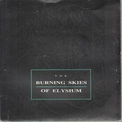 "BURNING SKIES OF ELYSIUM Alone 7"" VINYL UK Crisis 1987 B/W Beggarman Thief"