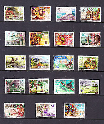 Papua New Guinea stamps - 19 MUH