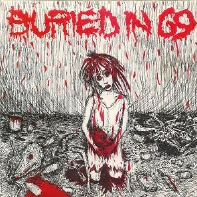 """BURIED IN 69 So Lonely 7"""" VINYL US Audio Addict 1990 2 Track (Aa694) Pic Sleeve"""