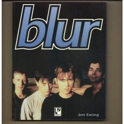 BLUR S/T BOOK UK Parragon 1996 128 Page Book By Jon Ewing