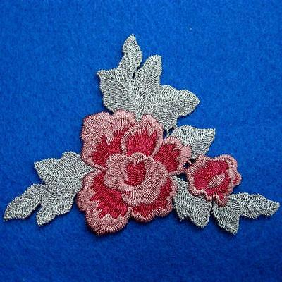 Flower Floral Lace Applique Sew On Patch Collar Decoration Embroidery Motif