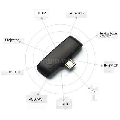 Universal IR Infrared Remote Control Adapter Zazaremote Fr OTG Android Cellphone