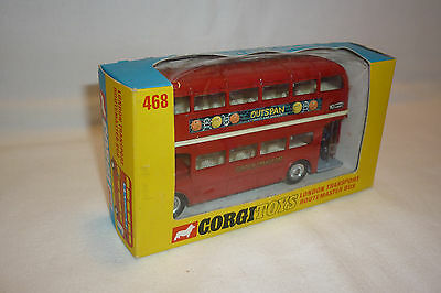 Corgi Toys - Vintage Metallmodell - London Transport Bus - Ovp - (Corgi-T-38)