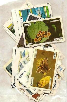 30 x Staffa Stamps - off paper.