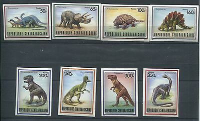 5234. Republic Of Central Africa. Dinosaurs. MNH.