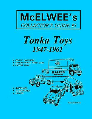 McElwee's Collector's Guide #3 - Tonka - 1947-1961