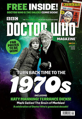 Doctor Who Magazine February 2017 (Issue 508) + Free Comic Book...new