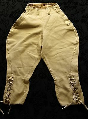 RARE MENS VTG CORD LIGHTWEIGHT 1940's 40's BREEKS PLUS FOURS SHOOTING HUNTING 28