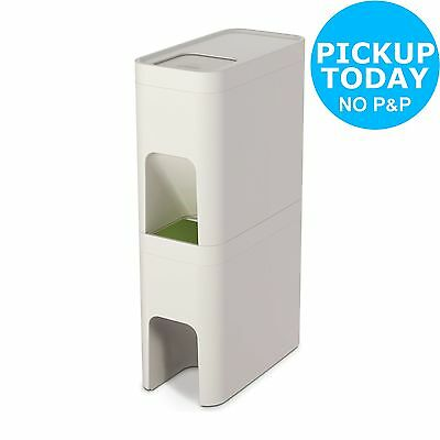 Joseph Joseph 48 Litre Stack Recycling Bin - Stone. From the Argos Shop on ebay